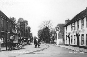 Marden High Street in 1912